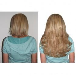 Скидка на наращивание волос 50%